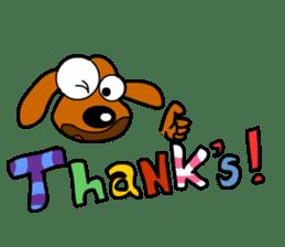 Salala-Super cute sausage dog sticker #8434391