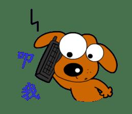 Salala-Super cute sausage dog sticker #8434411