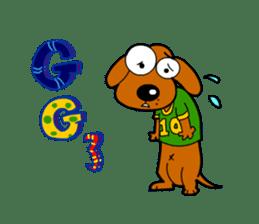 Salala-Super cute sausage dog sticker #8434412