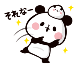 Mochi Mochi Panda!-Daily life version- sticker #8435581