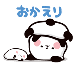 Mochi Mochi Panda!-Daily life version- sticker #8435587