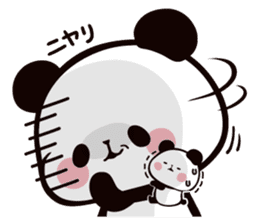 Mochi Mochi Panda!-Daily life version- sticker #8435592