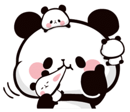 Mochi Mochi Panda!-Daily life version- sticker #8435596