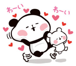 Mochi Mochi Panda!-Daily life version- sticker #8435599