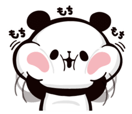 Mochi Mochi Panda!-Daily life version- sticker #8435602