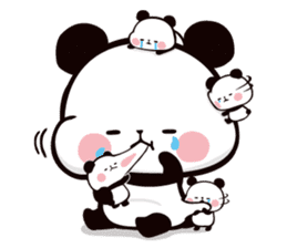 Mochi Mochi Panda!-Daily life version- sticker #8435604