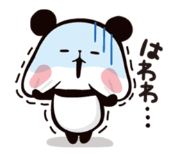 Mochi Mochi Panda!-Daily life version- sticker #8435605
