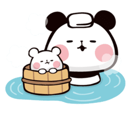 Mochi Mochi Panda!-Daily life version- sticker #8435612