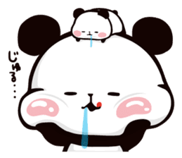 Mochi Mochi Panda!-Daily life version- sticker #8435613