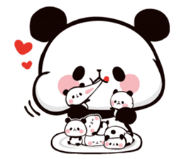 Mochi Mochi Panda!-Daily life version- sticker #8435614