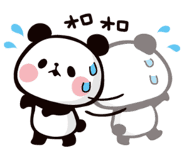 Mochi Mochi Panda!-Daily life version- sticker #8435617
