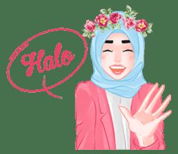 Hijab Chic sticker #8436140