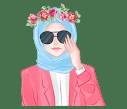 Hijab Chic sticker #8436155