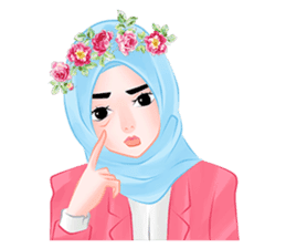 Hijab Chic sticker #8436156