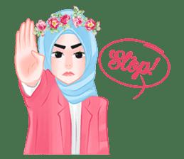 Hijab Chic sticker #8436157