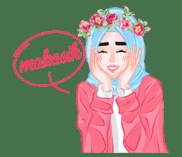Hijab Chic sticker #8436158