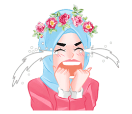 Hijab Chic sticker #8436160