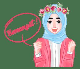 Hijab Chic sticker #8436161