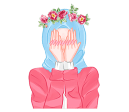 Hijab Chic sticker #8436163