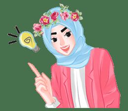 Hijab Chic sticker #8436167
