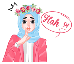 Hijab Chic sticker #8436168
