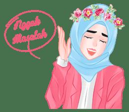 Hijab Chic sticker #8436169