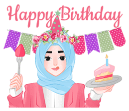 Hijab Chic sticker #8436177