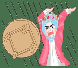 Hijab Chic sticker #8436178