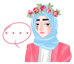 Hijab Chic sticker #8436179