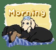 Cute Dachshund Ryu!! Vol 2 (English) sticker #8436940