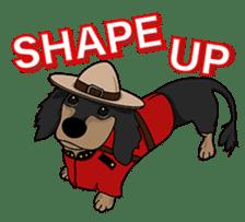 Cute Dachshund Ryu!! Vol 2 (English) sticker #8436943