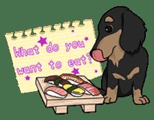 Cute Dachshund Ryu!! Vol 2 (English) sticker #8436948