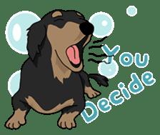 Cute Dachshund Ryu!! Vol 2 (English) sticker #8436956