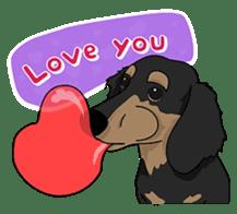 Cute Dachshund Ryu!! Vol 2 (English) sticker #8436962