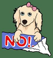 Cute Dachshund Ryu!! Vol 2 (English) sticker #8436971