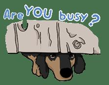 Cute Dachshund Ryu!! Vol 2 (English) sticker #8436975