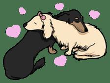 Cute Dachshund Ryu!! Vol 2 (English) sticker #8436977