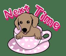 Cute Dachshund Ryu!! Vol 2 (English) sticker #8436979