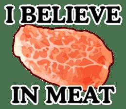 MEAT ENGLISH sticker #8439395