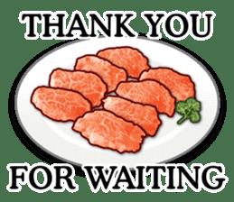MEAT ENGLISH sticker #8439400