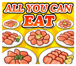 MEAT 2 ENGLISH sticker #8439834