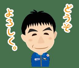 JAXA Official Sticker ISS and Astronauts sticker #8440212