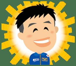 JAXA Official Sticker ISS and Astronauts sticker #8440219