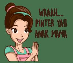 mamaku cayang sticker #8442185