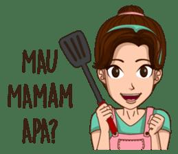 mamaku cayang sticker #8442191