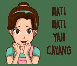 mamaku cayang sticker #8442199