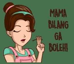 mamaku cayang sticker #8442202
