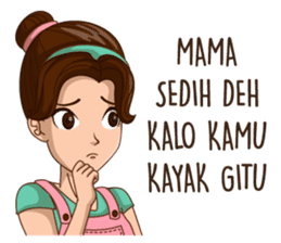 mamaku cayang sticker #8442210
