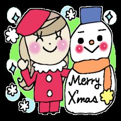 Winter sticker 1