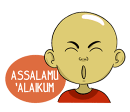 Arul si Botak sticker #8447344